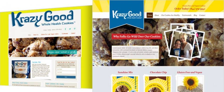 KRAZY GOOD WHOLE HEALTH COOKIES
