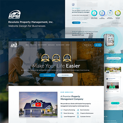 It's Live! Resolute Web Design & WordPress Development