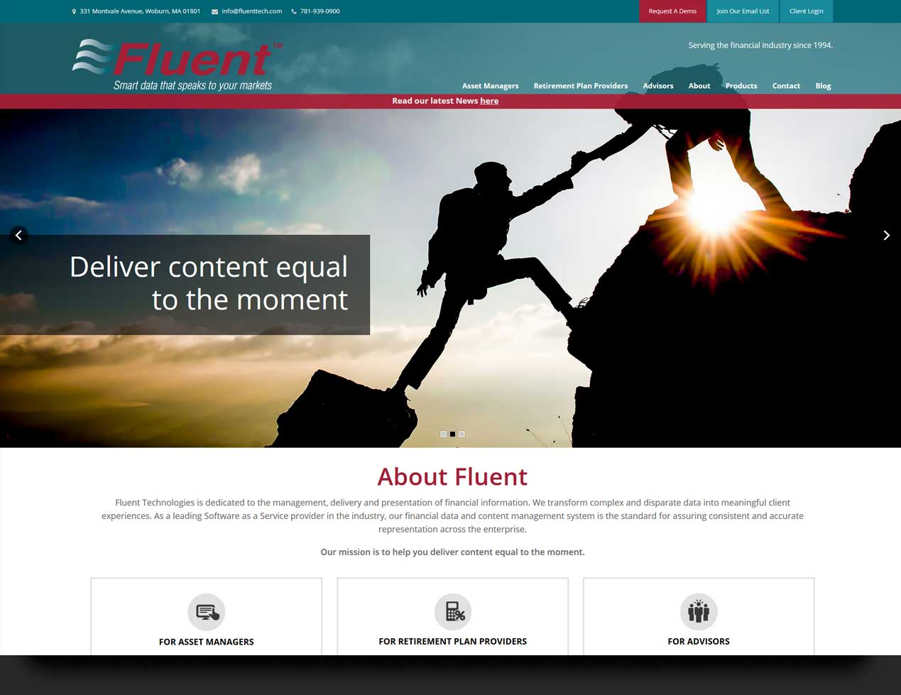 fluent website